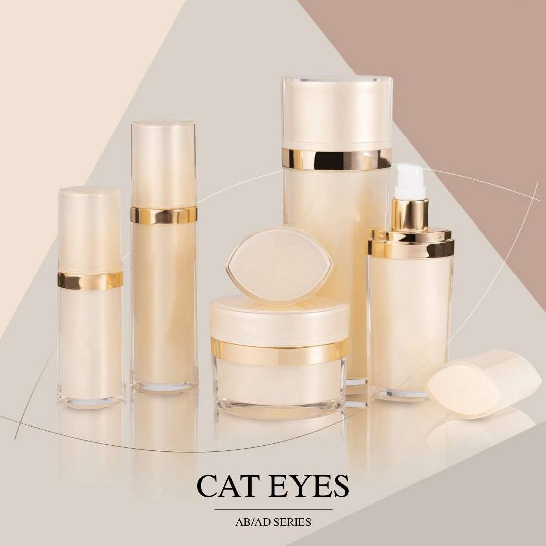 COSJAR cometic container design - Cat eyes series