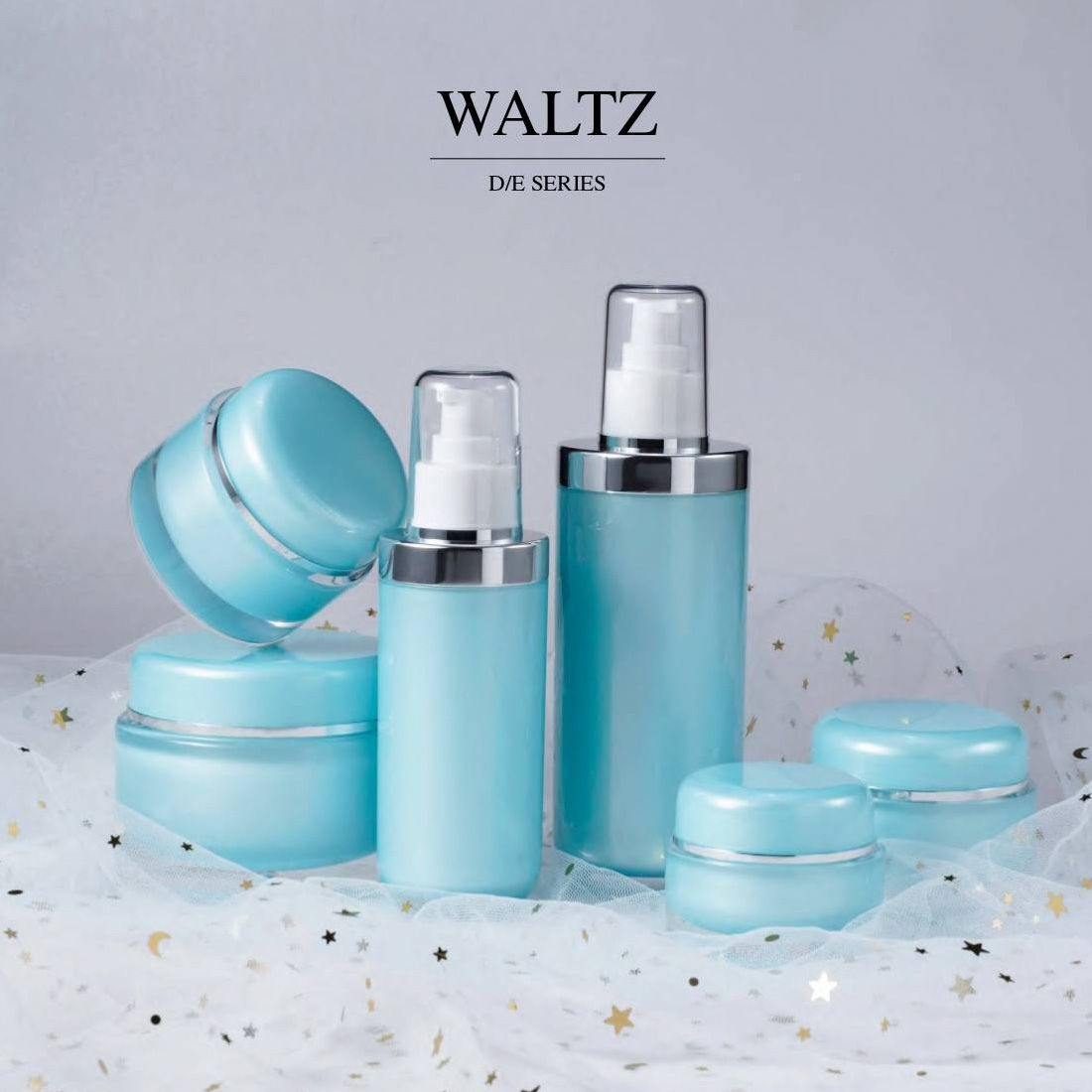COSJAR cometic container design - Waltz series